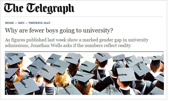 Daily Telegraph Boy's Education
