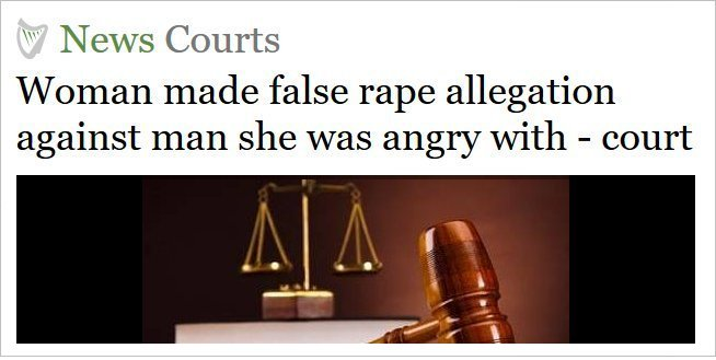 False allegations - Irish Independent