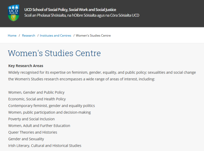 UCD Women